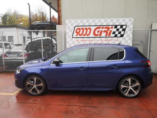 Peugeot 308 sw powered by 9000 giri