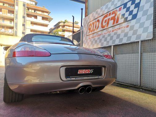 Porsche Boxter 2.7 987 powered by 9000 Giri