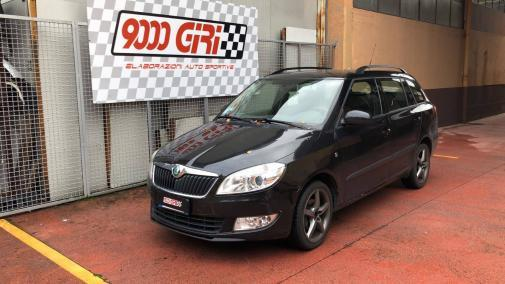 Skoda Fabia Wagon 1.6 tdi powered by 9000 Giri