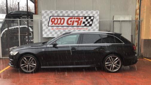 Audi A6 Avant 3.0 tdi powered by 9000 Giri