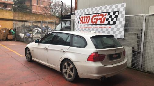 Bmw 325 td powered by 9000 Giri