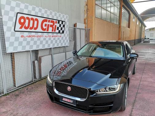Jaguar Xe 2.0 td powered by 9000 giri
