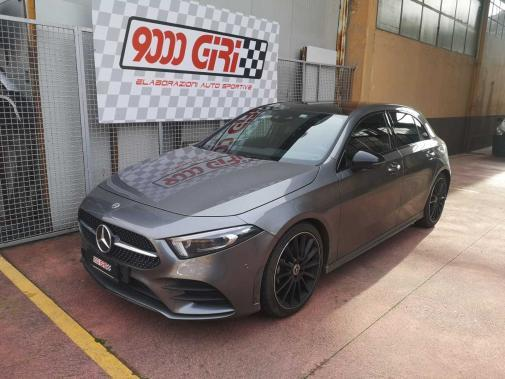 Mercedes classe a180d powered by 9000 giri