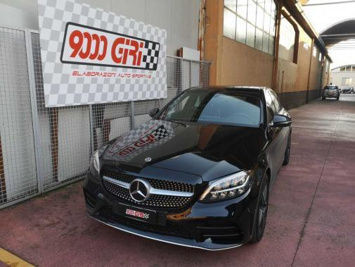 Mercedes C 200 d powered by 9000 giri
