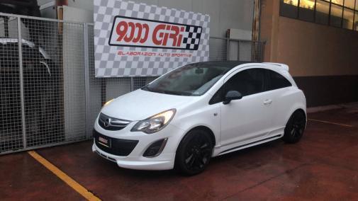 Opel Corsa 1.2 16v powered by 9000 Giri