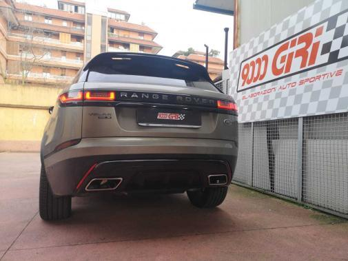 Range Rover Velar 2.0 tdi powered by 9000 Giri