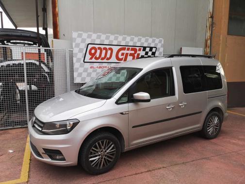 Vw Caddy 2.0 tdi powered by 9000 Giri