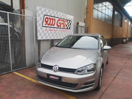 Vw Golf 7,5 1.5 tsi powered by 9000 giri