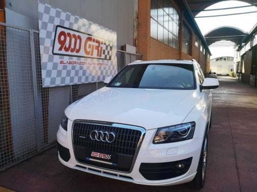 Audi Q5 2.0 tfsi powered by 9000 Giri