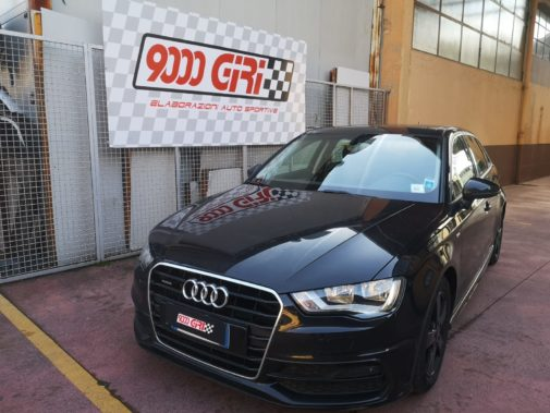 Audi A3 2.0 tfsi powered by 9000 giri