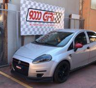 """Elaborazione Fiat Grande Punto 1.4 16v """"Gull wings"""""""