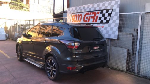 Ford Kuga 1.5 tdci powered by 9000 Giri