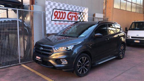 Ford Kuga 1.5 tdci powered by 9000 Giri
