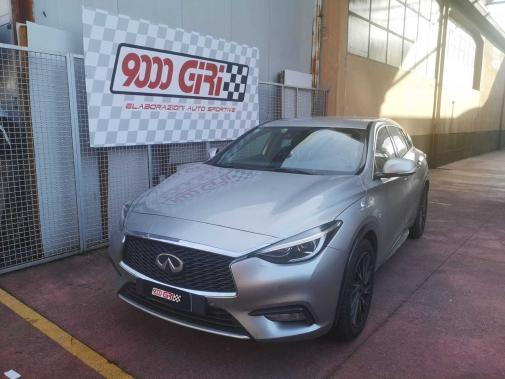 Infiniti Qx 30 2.2 td powered by 9000 Giri