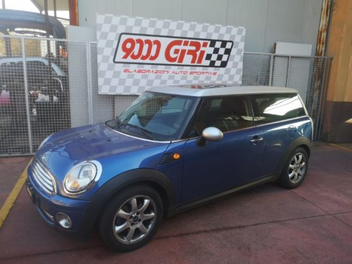 Mini Clubman Cooper 1.6 powered by 9000 Giri