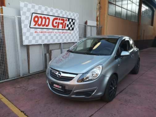 Opel Corsa 1.2 16v powered by 9000 Giri Milano