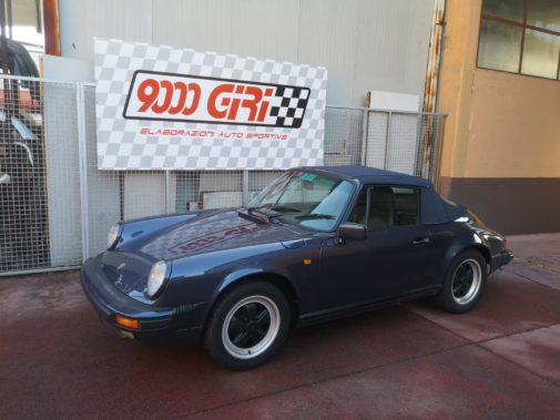 Porsche 911 3.2 powered by 9000 Giri