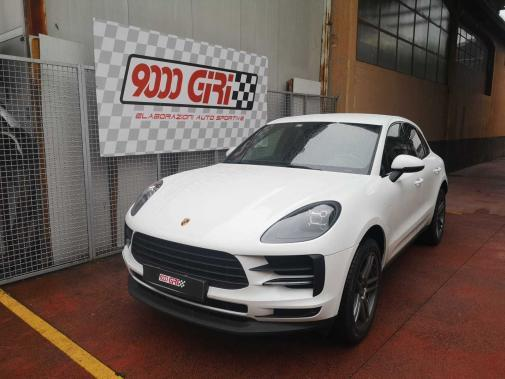 Porsche Macan 2.0t powered by 9000 Giri