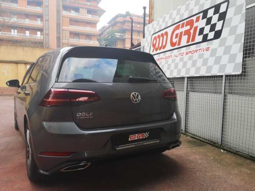 Vw Golf 7.5 1.5 tsi powered by 9000 Giri