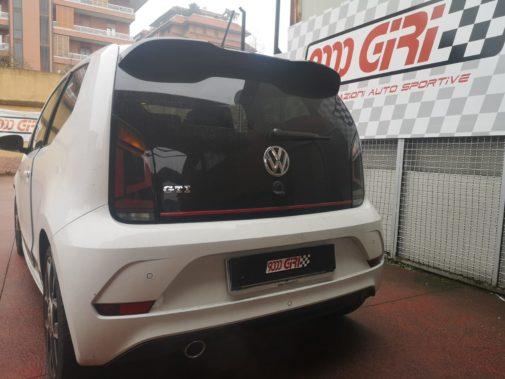Vw Up Gti powered by 9000 giri