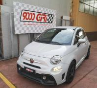 """Elaborazione Fiat 500 Abarth 1.4 Tjet """"Cloud"""""""