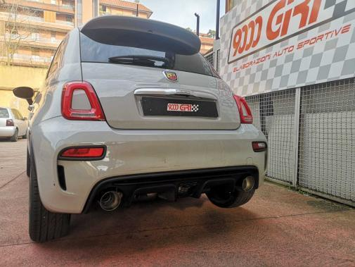 Fiat 500 Abarth 1.4 Tjet powered by 9000 Giri