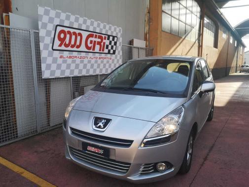 Peugeot 5008 1.6 hdi powered by 9000 Giri