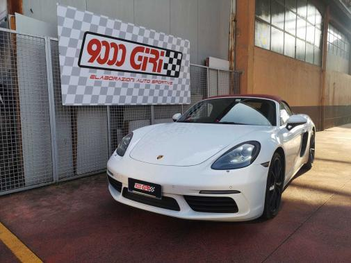 Porsche Boxter 718 2.0T powered by 9000 giri