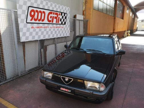 Alfa Romeo 75 2.0 Ts powered by 9000 Giri