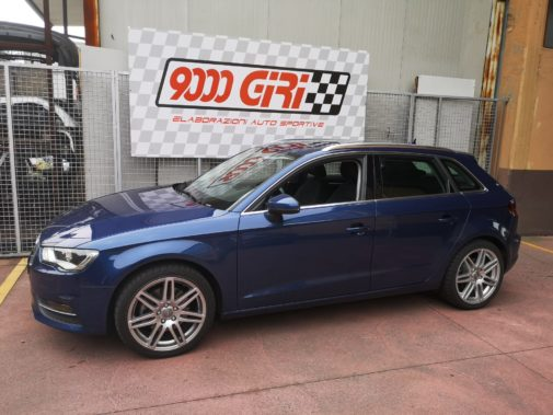 Audi A3 2.0 tfsi quattro powered by 9000 Giri