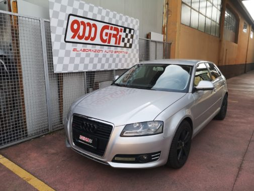 Audi A3 2.0 tdi powered by 9000 Giri
