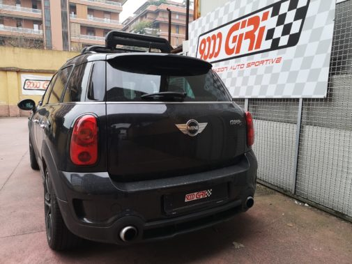 Mini Countryman All4 Cooper S powered by 9000 Giri