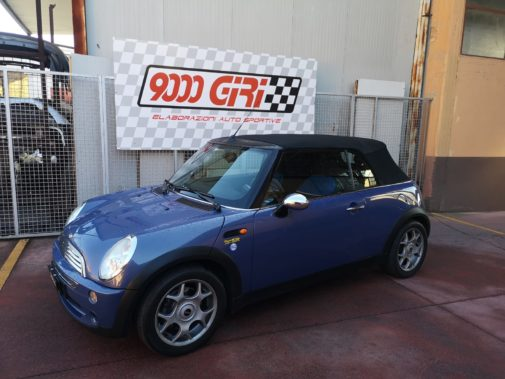 Mini One cabrio powered by 9000 giri