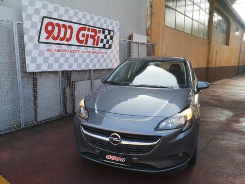 Opel Corsa 1.0 tb 3 cilindri powered by 9000 Giri