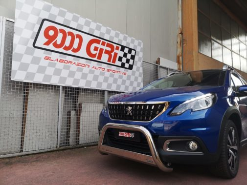 Peugeot 2008 1.5 td powered by 9000 Giri