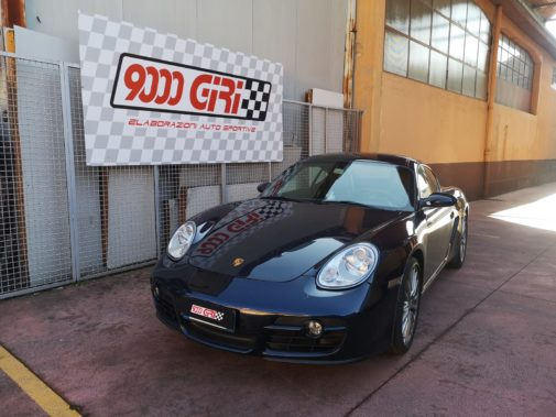 Porsche Cayman 2.7 powered by 9000 Giri
