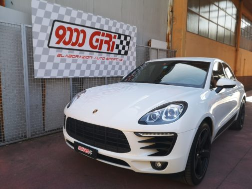Porsche Macan 3.0 td powered by 9000 Giri