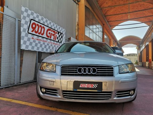 Audi A3 1.6 powered by 9000 Giri
