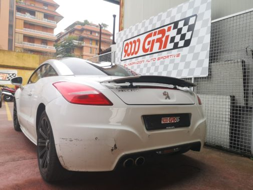 Peugeot Rcz 1.6 Thp powered by 9000 Giri