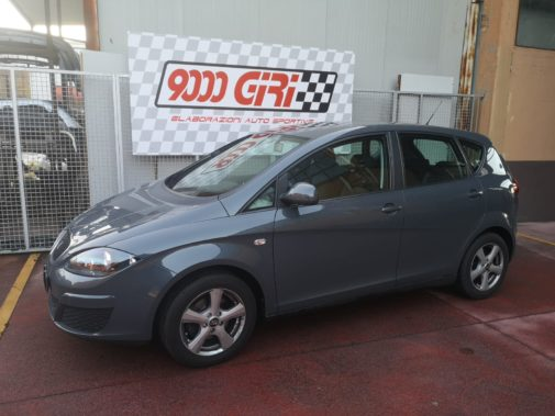 Seat Altea 1.6 tdi powered by 9000 Giri