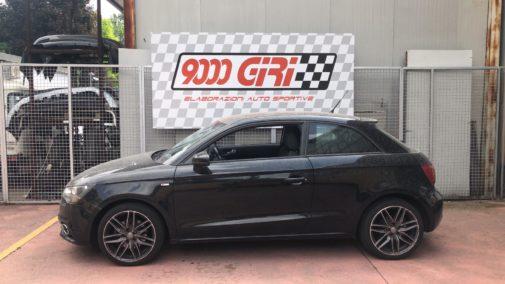 Audi A1 1.4 tfsi powered by 9000 Giri