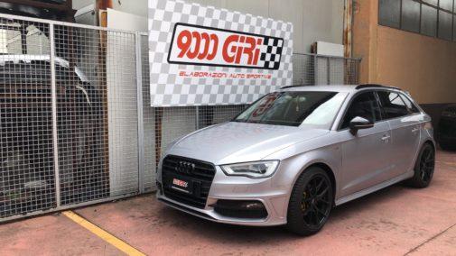 Audi A3 1.4 tsi powered by 9000 Giri