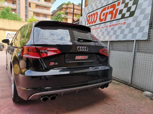 Audi S3 Sportback powered by 9000 Giri