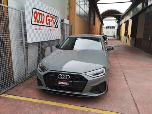 Audi A4 powered by 9000 Giri