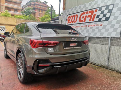 Audi Q3 2.0 tfsi powered by 9000 Giri