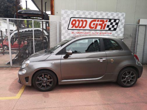 Fiat 500 Abarth Pista powered by 9000 Giri