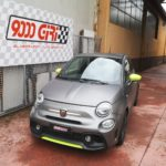 """Elaborazione Fiat 500 Abarth """"Illusione ottica"""""""