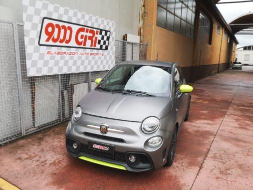 Fiat 500 Abarth 1.4 Tjet powered by 9000 Giri