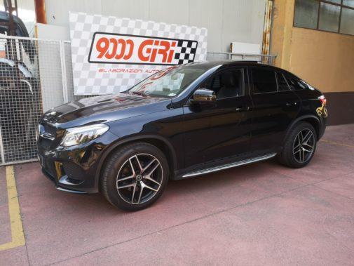 Mercedes Gle 350d 4 matic powered by 9000 Giri