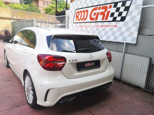 Mercedes A200 cdi powered by 9000 Giri